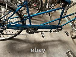 Rare Vintage 1967 SCHWINN De Luxe TWINN Blue 5-Speed Tandem Bicycle ORIGINAL