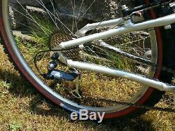 Rare Vintage 1999 Schwinn S-30 Carbon Mountain Bike MTB Green 17 Homegrown