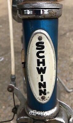 Rare Vintage Classic Schwinn Stingray Fastback 5 Speed Kickback Bicycle