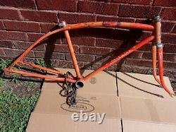 Rt49,7, Vintage, Schwinn, Stingray, Krate, Fastback, 24frame&fork, Mantaray, Parts, Old
