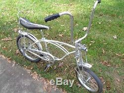 SCHWINN 1971 GREY GHOST Sting-ray Bicycle-Vintage BikeOriginal-71 Coaster