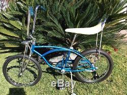 SCHWINN ORIGINAL 1970 NOS 20 STINGRAY VINTAGE BICYCLE KRATE FASTBACK 70's BIKE