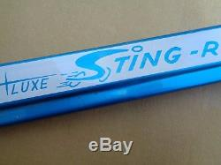 SCHWINN STINGRAY BICYCLE CHAIN GUARD Vintage Sky Blue DeLuxe Sting-ray