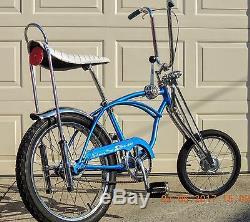 Schwinn Stingray Krate Stick Shift Stik Shift Vintage Bike