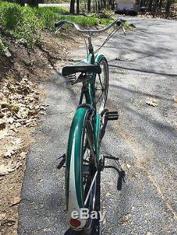 Schwinn Tiger Vintage 1955 Cruiser Bike 26 S 7 Wheels