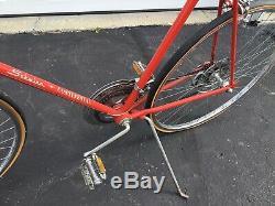 SUPER CLEAN Schwinn CONTINENTAL Men's Bike Sunset Orange Vintage- Chicago 1973