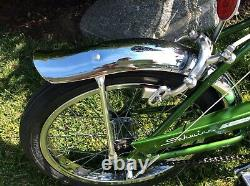 Schwinn 1969 Near Nos Run-a-bout Stingray Vintage Bicycle Krate Runabout Bike 69