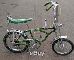 Schwinn 1969 PEA PICKER Stingray Bicycle RESTORED Bike Vintage Sting-ray 69