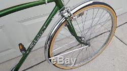 Schwinn 1973 Collegiate Vintage Men's Bicycle 26 5 Speed Camelback