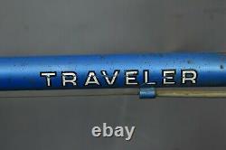 Schwinn 1975 Traveler Vintage Touring Road Bike Large 58cm Shimano Steel USA