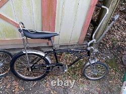 Schwinn Black AsIs StingRay Vintage Retro BIKE Banana Seat sting ray