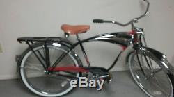 Schwinn Black Phantom Bicycle 1995 Vintage Reproduction