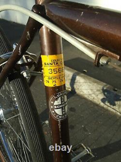 Schwinn Chicago Vintage Bicycle (RARE & ALL ORIGINAL)