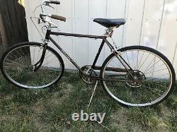 Schwinn Collegiate Sport 5 Speed Vintage 1969 Mens Bike Free Shipping