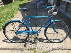 Schwinn Deluxe Racer Vintage Men's Bicycle 26 3 Speed