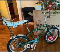 Schwinn GREEN StingRay Vintage. MUSCLE BIKE 125th Anniversary NEW BOX 2020