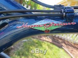 Schwinn Homegrown 4-banger 19 Bass Boat Blue XTR/XT Vintage MTB PLUS EXTRAS