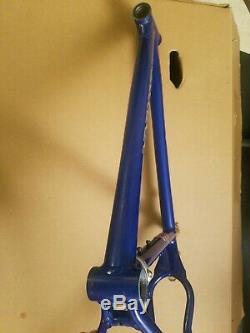 Schwinn Homegrown Mountain Bike Frame 19 Large 2001 vintage mini bass boat blue