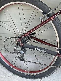 Schwinn Homegrown Pro Vintage Al 6061 17 inch (large) frame Red USA