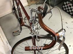 Schwinn Le Tour mens vintage 10 speed road bicycle mans orange racing bike Japan