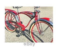 Schwinn Red Phantom 1957 Vintage