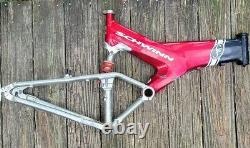 Schwinn S10 Carbon Fiber Mountain Bike, 26, vintage, 18 frame, very nice