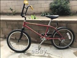 Schwinn Scrambler Bmx vintage complete bicycle