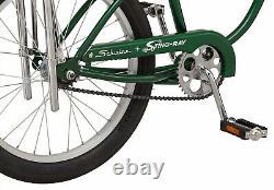 Schwinn StingRay Retro Vintage Classic Bicycle Sting Ray Boys Bike Green New