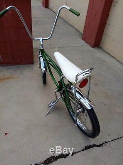Schwinn Stingray Bicycle 1968 Muscle Bike Krate Vintage