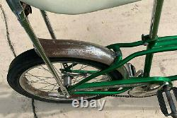 Schwinn Stingray Bicycle Vintage Pea Picker Green single speed