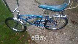 Schwinn Stingray Blue Vintage Bicycle Dec. 0 1978