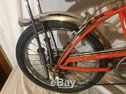 Schwinn Stingray Orange Krate Vintage 1970