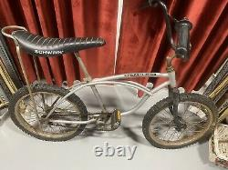 Schwinn Stingray Scrambler 1977 Vintage Bicycle Collectors Banana Seat BMX