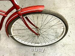 Schwinn Typhoon 2 speed kick-back red band hub vintage bicycle