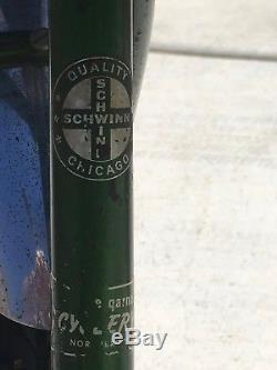 Schwinn Vintage 1968 Mini Twinn Sting Ray Tandem Green Bicycle Schwinn USA