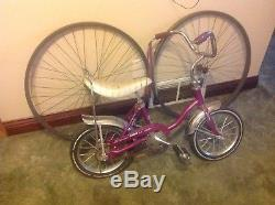 Schwinn Vintage Early Violet Lil Tiger Stingray Bike Muscle