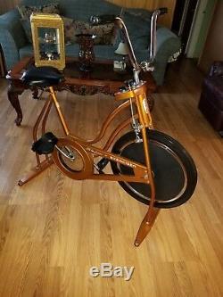 Schwinn Vintage Exercise Bike Copper Color