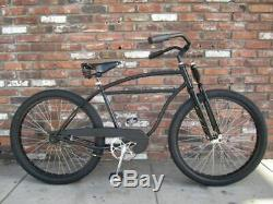Schwinn Vintage Straight Bar Frame Low Rider Rat Rod Custom Beach Cruiser Bike
