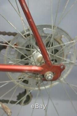 Schwinn Vintage Touring Road Bike Small 50cm 1960s Shimano Commute Steel Charity