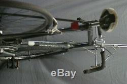 Schwinn World Vintage Touring Road Bike 64cm XLarge Lugged Steel Gravel Charity
