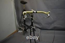Schwinn World Vintage Touring Road Bike Frame X-Large 63cm 1987 Steel US Charity