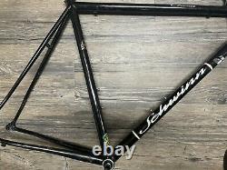 Schwinn circuit 56cm, steel road bike frame, Reynolds 853 Tubing, Vintage