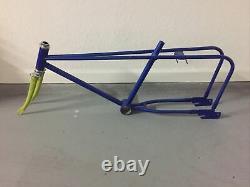 Sears Screamer Bicycle Frame Forks Murray Eliminator Schwinn Sting Ray 16 20 Vtg