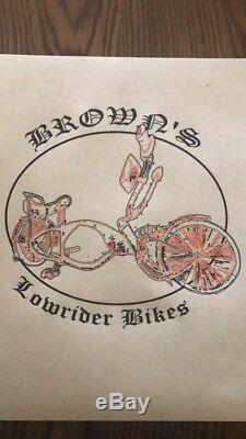Stingray Bicycle FRAME Vintage 20 Schwinn Bike Lowrider