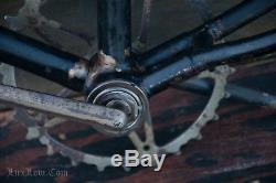 TOC Bicycle FRAME CRANK FORK Vintage Prewar Wood Wheel Bike Schwinn Miami Fauber