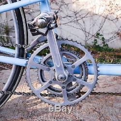 USED 1972 Vintage Schwinn Paramount Tandem Road Bike Campy/Mafac Blue with Rack