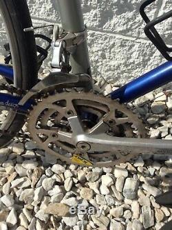 Univega Vintage Touring Bike! 56 cm Chromoly Frame! 18 Speed