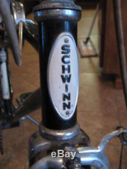 VINTAGE 1966 Schwinn Stingray 5 Speed Stick Shift Original Vintage Bike