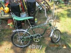 VINTAGE 1970 Schwinn Sting-Ray 5-Speed PEA PICKER Krate Bicycle NICE condition