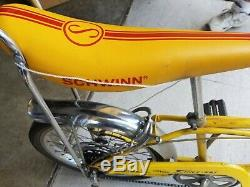 VINTAGE 1972 Schwinn 5 Speed StingRay Bicycle (USED CONDITION SOLD AS IS)